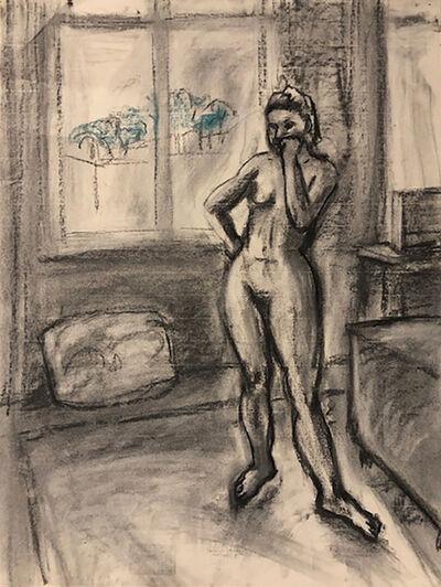 Anne Delaney, 'Figure Study in Studio', 2019
