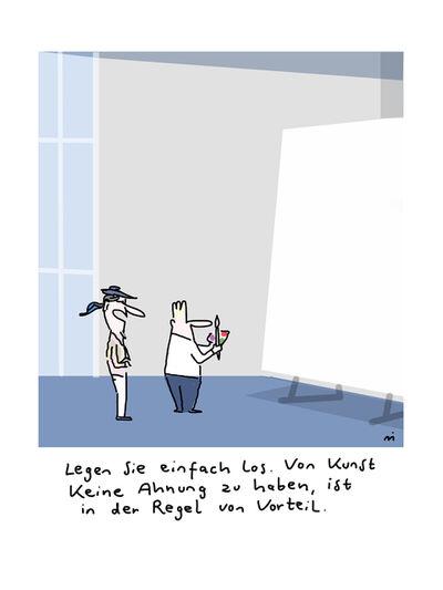 Dirk Meissner, 'Anfangs', 2018
