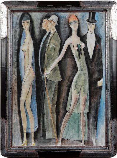 "Zaza Tuschmalischwili, '""Herrenabend""', ca. 1990"