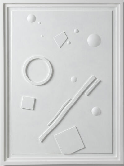 Stephen Antonakos, 'Untitled Wood Relief (A-1)', 1985