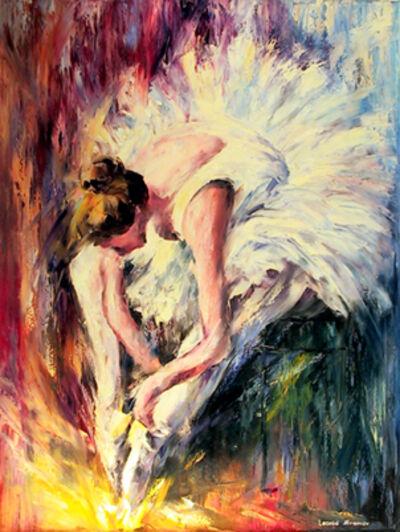 Leonid Afremov, 'Seated Dancer', 2001