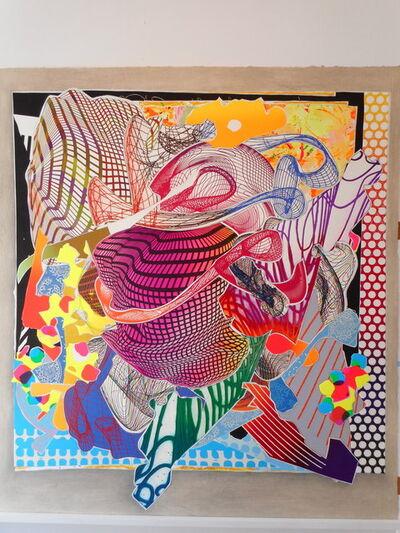 Frank Stella, 'Feneralia', 1995