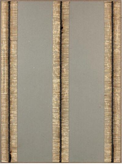 Bernard Aubertin, 'Dessin de feu', 1974