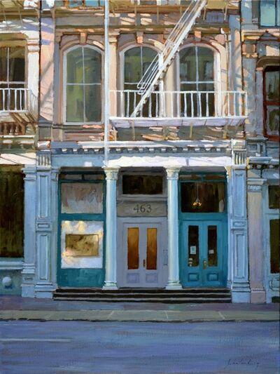 Paul Schulenburg, 'Along Broome Street'