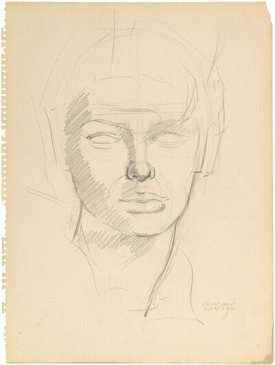 Charles White, 'HEAD STUDY'