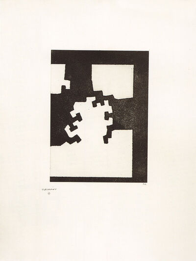 Eduardo Chillida, 'Atzapar', 1973