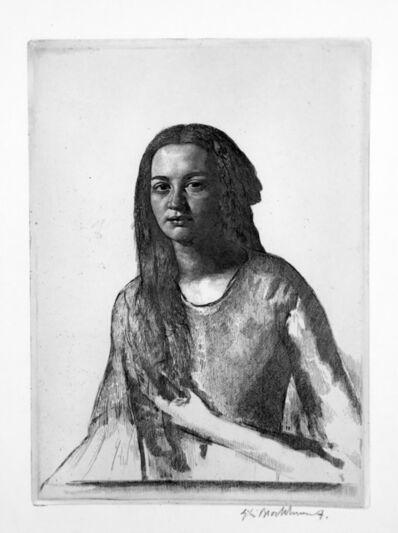 Gerald Leslie Brockhurst, 'Una (Portrait of a Creole Lady)', 1929