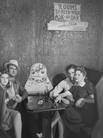 Marion Post Wolcott, 'Two Couples in a Juke Joint, FL', 1939
