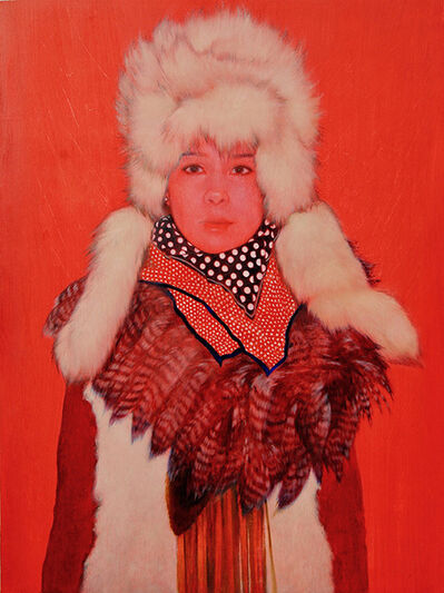 June Glasson, 'Red Taryn', 2020