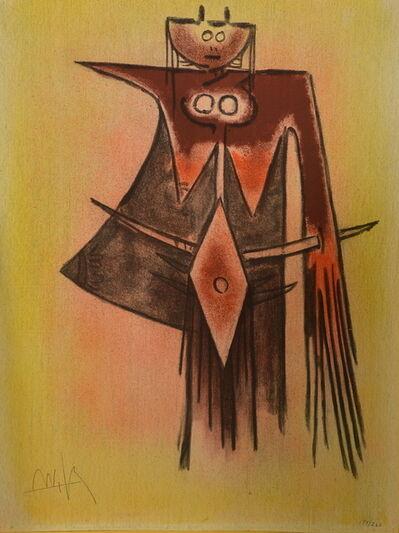 Wifredo Lam, ' Pleni Luna planche 7', 1974