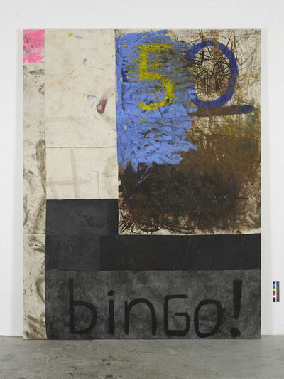 Oscar Murillo (b. 1986), 'Money Maker!', 2013