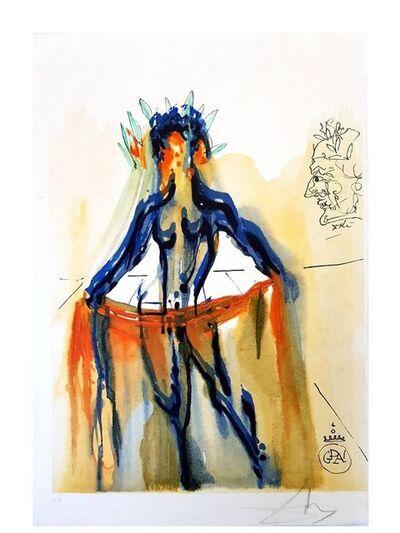"Salvador Dalí, 'Etching ""Art Of Love - Venus"" by Salvador Dali', 1979"