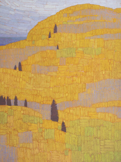 David Grossmann, 'Hill Patterns, Late September', 2019