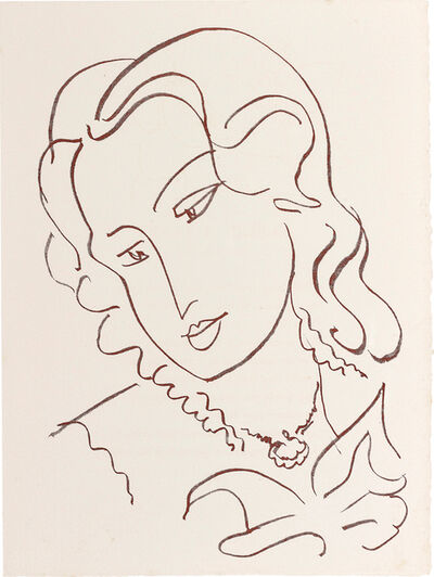 Henri Matisse, 'Florilège des amours de Ronsard (Anthology of Love, by Ronsard)', 1949