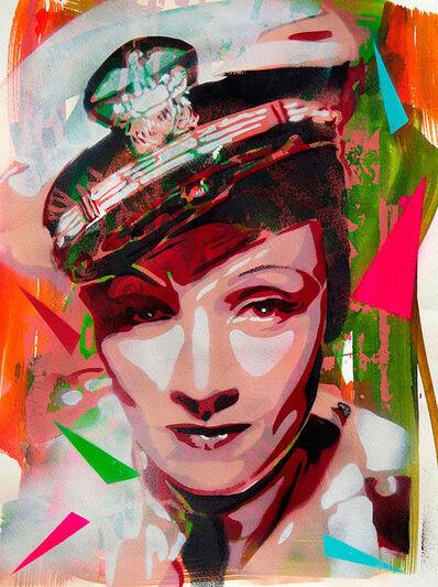 "Andrea Btoy, '""Marlene Dietrich""', 2012"