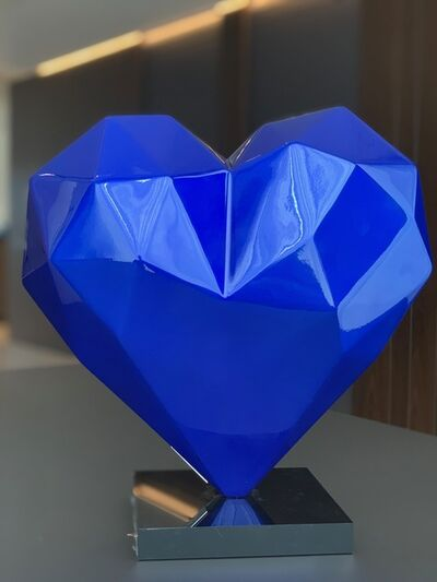 Richard Orlinski, 'The Heart Blue Mick', 2019
