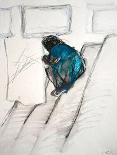 Chiharu Shiota, 'Sitting', 2015