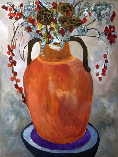 Kathleen Sidwell, 'Orange Vase', 2018