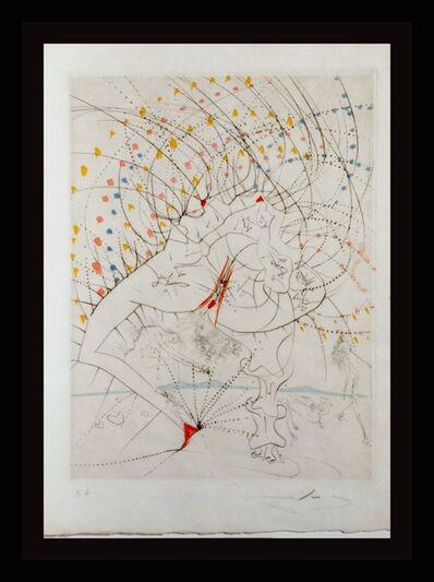 Salvador Dalí, ' La Venus Aux Fourrures Lady Leaf ', 1968