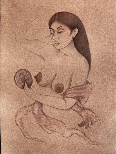 Hiba Schahbaz, 'Self Portrait (After Giovanni Bellini)', 2020
