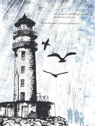 Elizabeth Cowell, 'Flannan Isle Mystery', 2016