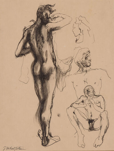 Pavel Tchelitchew, 'Figure Studies'