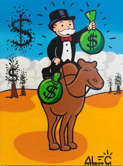 Alec Monopoly, 'MONOPOLY $ BAGS ON CAMEL', 2019