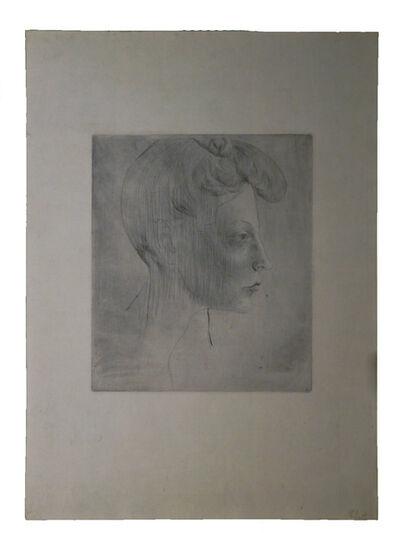 Pablo Picasso, 'Tête de Femme de Profil', 1905