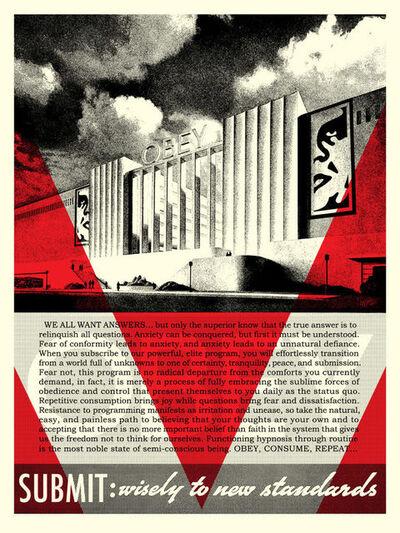 Shepard Fairey, 'Conformity Factory - Red', 2019
