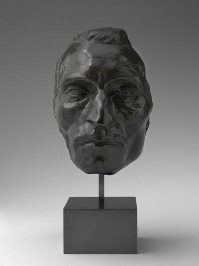 Jules Dalou, 'Portrait Mask of Etienne Carjat', model c. 1891-cast after 1907