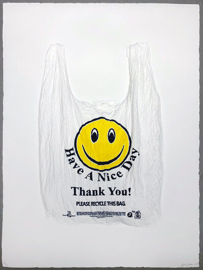 Analía Saban, 'Have a Nice Day, Thank You! Plastic Bag', 2016
