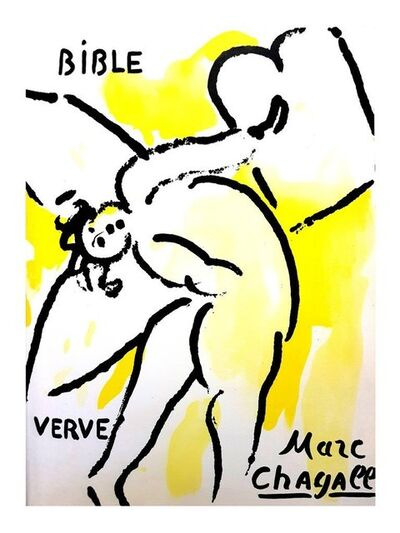 Marc Chagall, 'Original Lithograph depicting an instant of the Bible by Marc Chagall VII', 1956