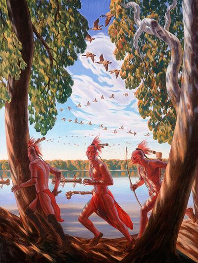 """Bryan Haynes, '""""Portage de Sioux""""', 2018"""