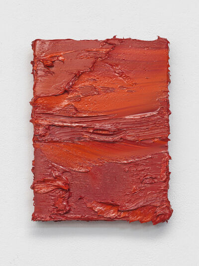Jason Martin, 'Untitled (Cadmium Red/ Coral Orange) ', 2017