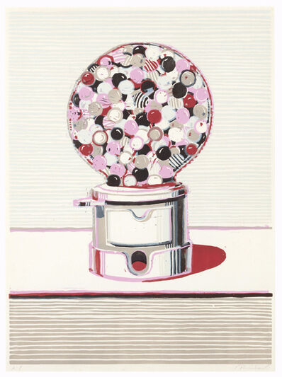 Wayne Thiebaud, 'Gumball Machine, from Seven Still Lifes and a Silver Landscape', 1971