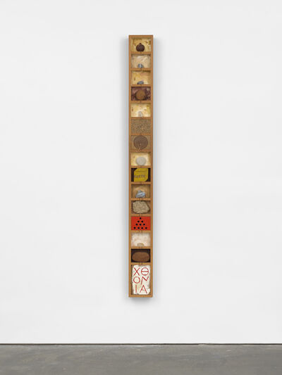 Joe Tilson RA, 'Chthonic Stele', 1978