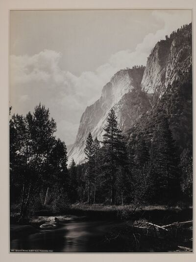Carleton E. Watkins, 'Glacier Point, 3257 Feet, Yosemite, California', 1879