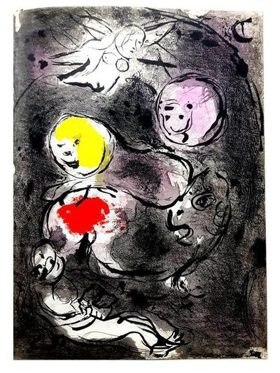 Marc Chagall, 'Original Lithograph depicting an instant of the Bible by Marc Chagall V', 1956