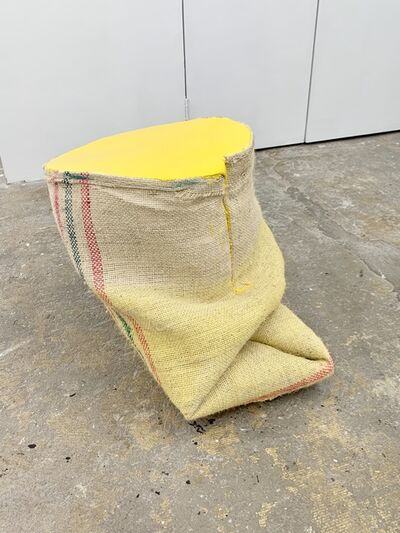 Howard Schwartzberg, 'Yellow Sack Painting', 2017