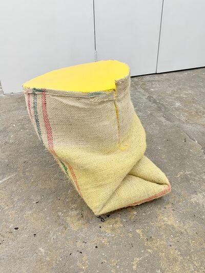 Howard Schwartzberg, 'Yellow Sack Painting', 2017