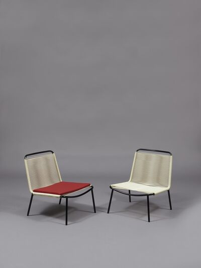 André Monpoix, 'Pair of armchairs 151', 1953/1954