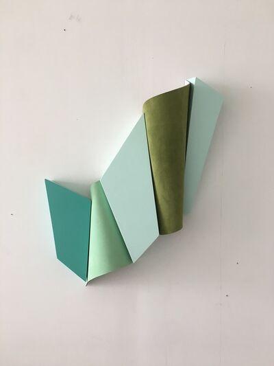 Henrik Eiben, 'Green in Blue', 2017