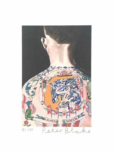 Peter Blake, 'Tattooed People, Max', 2015