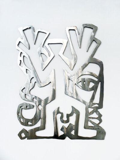 A.R. Penck, 'Standart, Kopf, Schlange', 1993/94