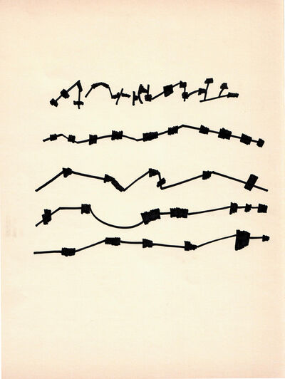 Mirtha Dermisache, 'Sin título', ca. 1970