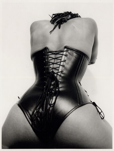 Renee Cox, 'Black Leather Lace-up', 2001