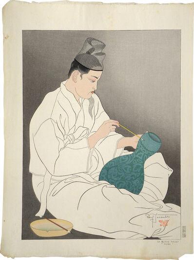 Paul Jacoulet, 'Korean Potter', ca. 1940