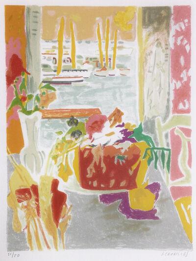 """Jules CAVAILLES, 'Lithographie pour """"Carnet de Cannes""""', 1967"""