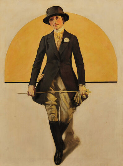 Walter Beach Humphrey, 'Woman in Equestrian Clothing', 1928