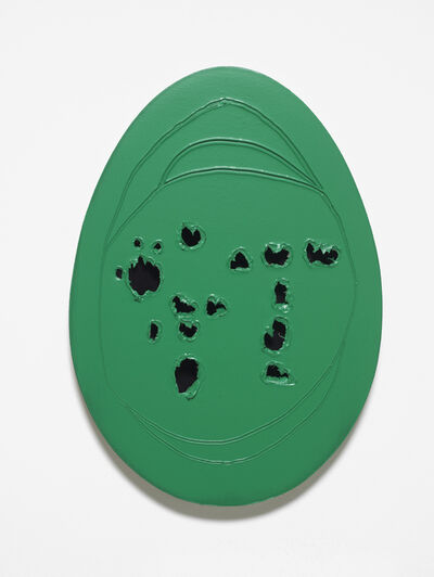 Gavin Turk, 'Holy Egg (Small Green)', 2017